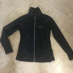 NWOT- Columbia rain jacket with hood. Never worn.